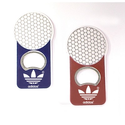 Jumbo Size Golf Ball Magnetic Bottle Opener - Item JPYNM-ELLMS
